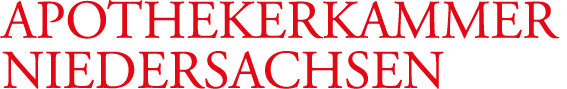 Logo der Apothekerkammer Niedersachsen